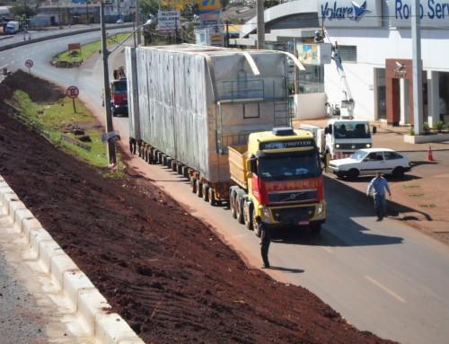 Movimentando Cargas Pesadas com a Mamuth Transportes