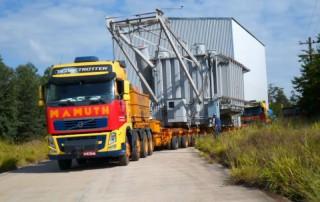 Transporte de cargas pesadas em todo brasil