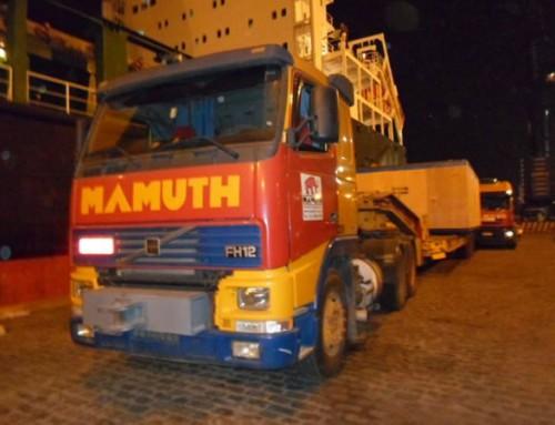 Transportes de Carga com segurança é com a Mamuth!